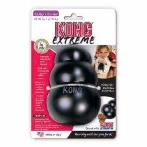 אריזת קונג שחור משחקי חטיפים לכלבים