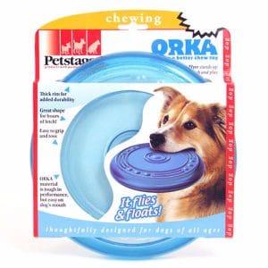 אריזת משחקים לכלבים פריזבי כחול אורקה
