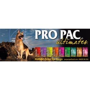 באנר של פרו פק אוכל לכלבים הוליסטי
