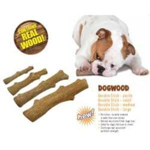 עצם חטיף לכלבים בצורת בול עץ
