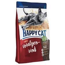 """אוכל לחתולים הפי קאט 4 ק""""ג בקר"""