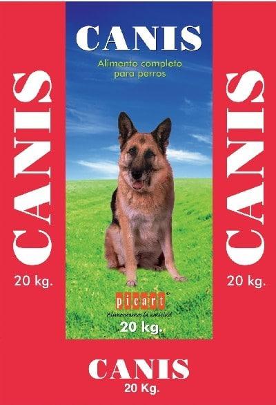 """אריזת אוכל לכלבים קניס 20 ק""""ג"""
