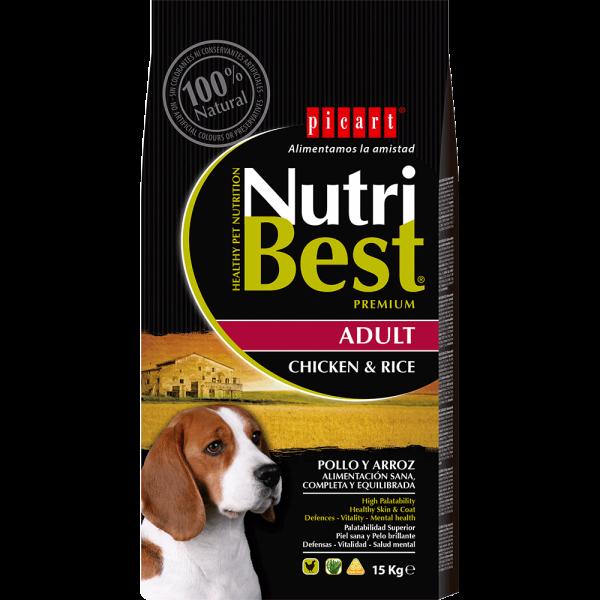 """אוכל לכלבים בוגרים נוטרי בסט 15 ק""""ג"""