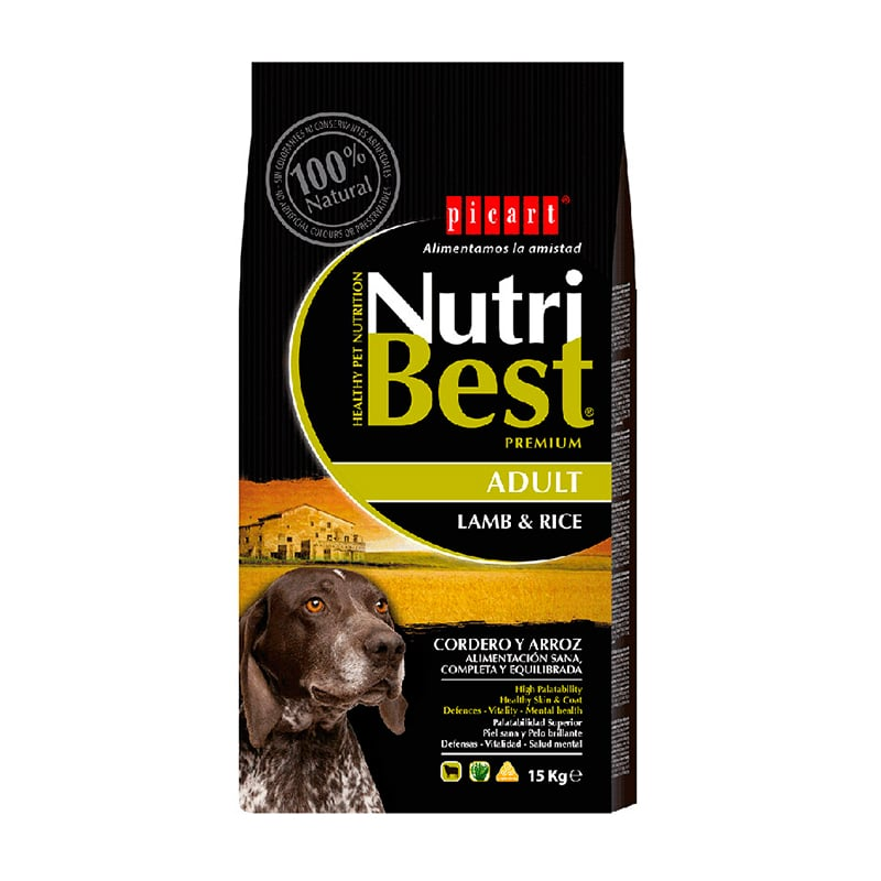 """אוכל לכלבים בוגרים נוטרי בסט אריזת 15 ק""""ג"""