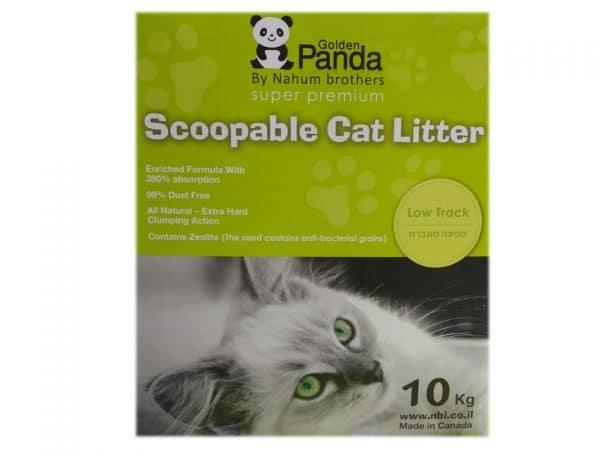 חול מתגבש לחתולים פנדה