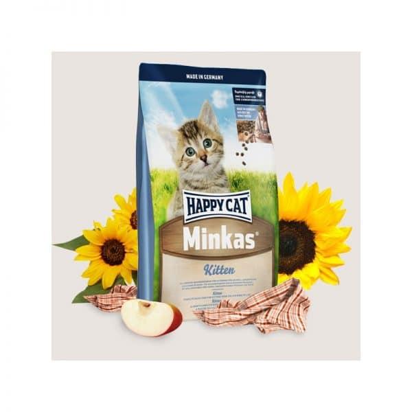 """הפי קאט אוכל לחתולים גורים מארז 10 ק""""ג"""