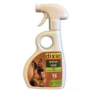 תרסיס טבעי לכלבים נגד פשפשים דיקסי