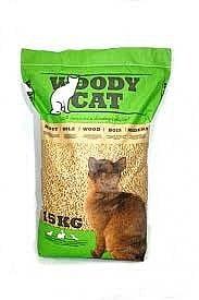 חול לחתולים וודי קאט