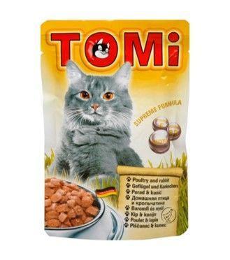 חטיפים לחתולים טומי