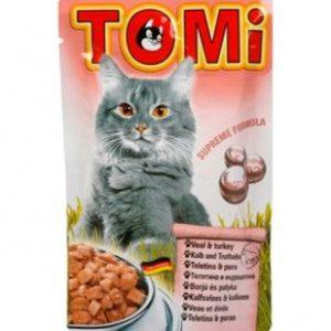 מעדן טומי פאוץ' עוף לחתול
