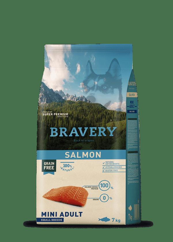 מזון לכלבים סלמון