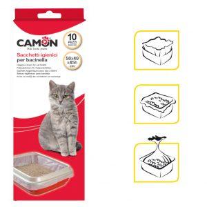 שקיות להרמת צואת חתולים