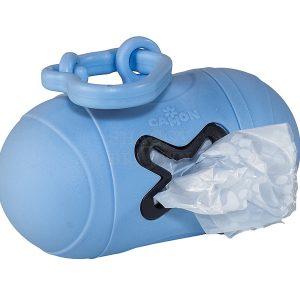 שקיות ניילון להרמת צואת כלבים כחול
