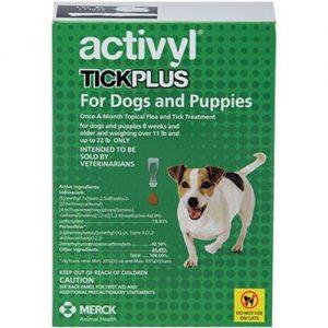 תכשיר הדברה לכלבים טיק פלוס